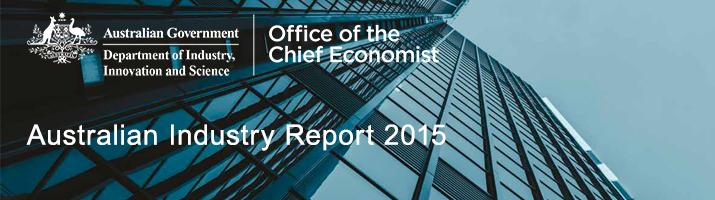 Australian Industry Report 2015